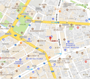 事務所所在地の地図